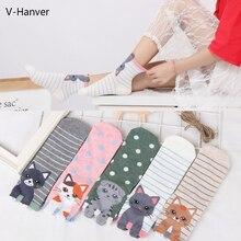 New Ankle Cotton Cute Cat Animal Pug Funny Female Socks Art 3D Dog Spring Warm Happy Harajuku Socks For Girls High Quality Sock цены