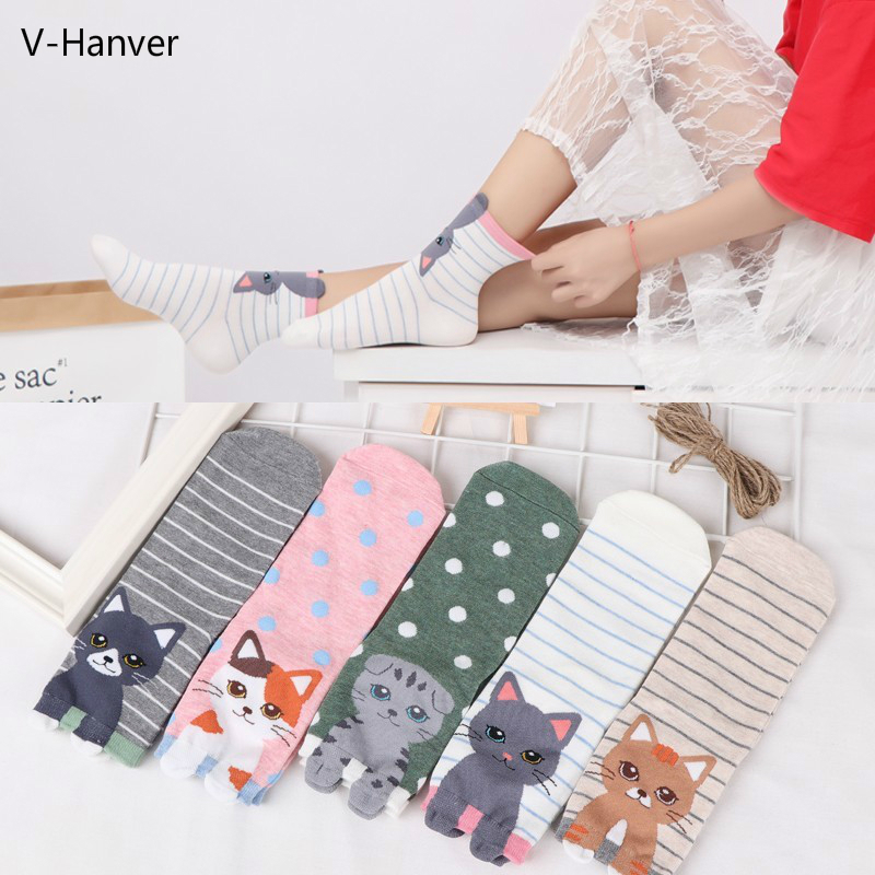 New Ankle Cotton Cute Cat Animal Pug Funny Female   Socks   Art 3D Dog Spring Warm Happy Harajuku   Socks   For Girls High Quality   Sock