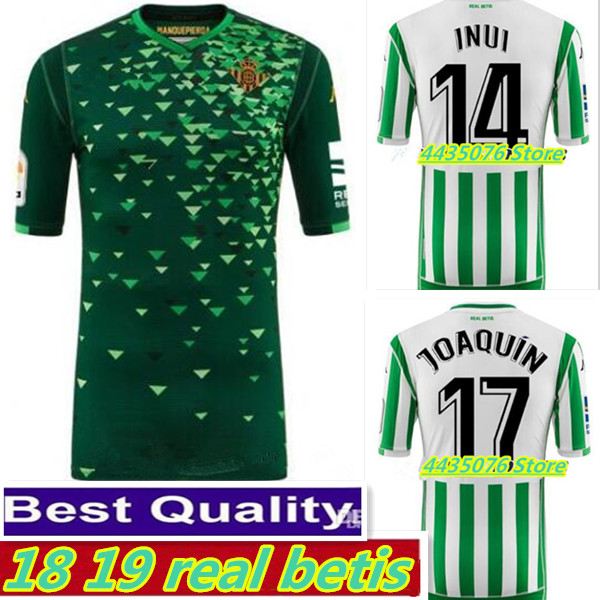 2018 2019 Real Betis adult shirts. 2018 2019 New Leisure Best Quality Real Betis shirt Casual S-2XL free shipping