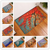 2017 New Colorful Tree Print Carpets Non Slip Kitchen Rugs For Home Living Room Floor Mats