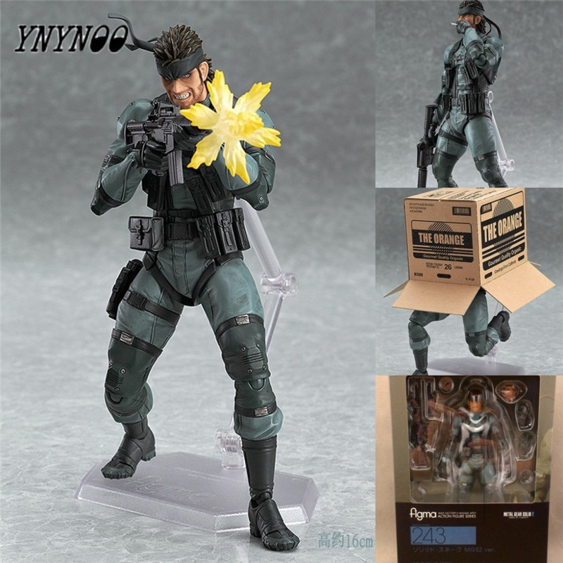 YNYNOO New Toys figures Play Arts snakes terts PVC Toys 16cm FMGS2 Alloy equipment 2 snakes terts Metal Gear models toy soldier jennifer dussling slinky scaly snakes beginning 2