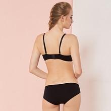 Seamless Underwear Brassiere Cotton Comfortable Bra Set Print Floral Bra Brief Sets Sexy Bra And Panty Set Conjunto Lingerie N5