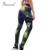 Camuflaje de rayas imprimir gimnasio legging pantalones femeninos ropa athleisure push up leggings elásticos para las mujeres harajuku jeggings