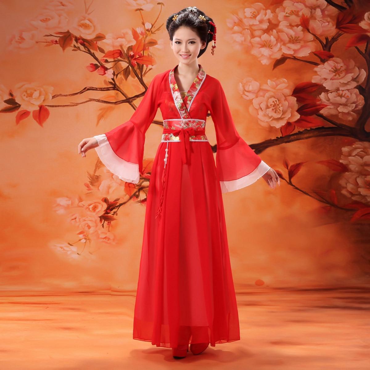 Dance Costume Clothes Fairies Female Tang Suit Hanfu