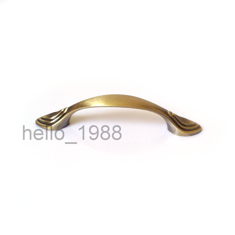 64mm Antique Bronze Cabinet Handle Kitchen Pull Wardrobe Bar Cupboard  Closet Drawer Pull Handle