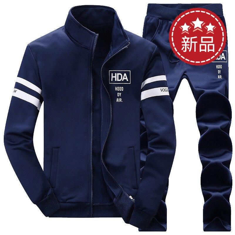 ФОТО 2016 men's leisure suits  autumn sweater Fishing vest coat long-sleeved jogging suit baseball  sportswear printing fishing cloth