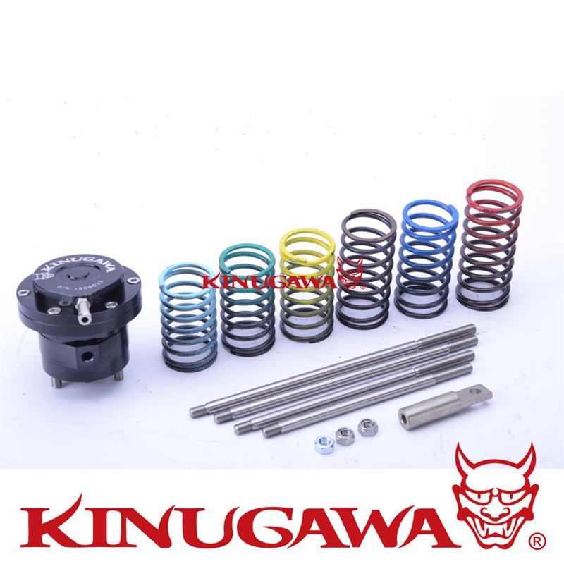 Kinugawa Adjustable Turbo Wastegate Actuator w/ 6 x spring & 4 x Rod for Universal kinugawa turbo install kit for nissan rb20det rb25det w for kinugawa td05h td06