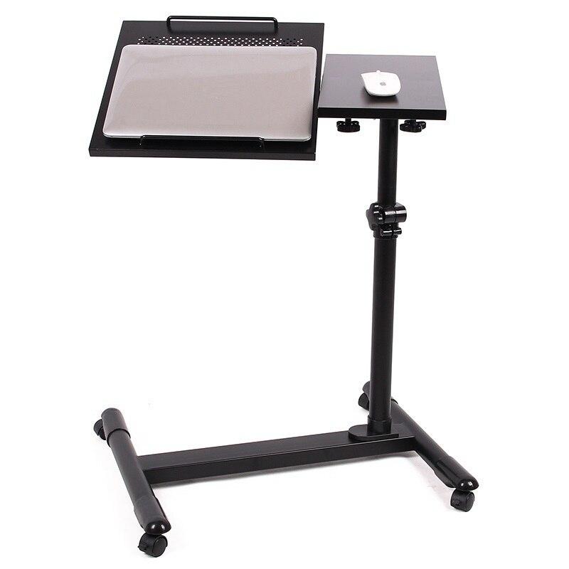 Простой двойной ленивый comter ноутбук стол сбоку охлаждения тумбочка Бесплатная доставка