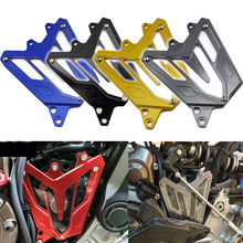 CNC Front Sprocket Chain Guard Panel Cover for Yamaha MT FZ 07 MT07 FZ07 MT-07 FZ-07 2013 2014 2015 2016 Engine Slider Protector ljbkoall 1 set cnc aluminum motorcycle engine slider case guard cover protector for yamaha mt 07 fz 07 fz07 mt07 mt 07 2014 2018