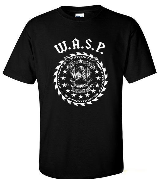 VINTAGE W.A.S.P. 33 YEARS HEAVY METAL BAND TWISTED SISTER T-SHIRT S M L XL 2XL
