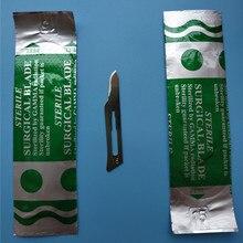 15#100 шт Промышленный Класс PCB ремонт хирургическое лезвие режущий чип упаковка очень острый и хороший в использовании Одиночная упаковка