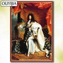 Ouyijia 5d diy Алмазная знаменитая картина полностью квадратной