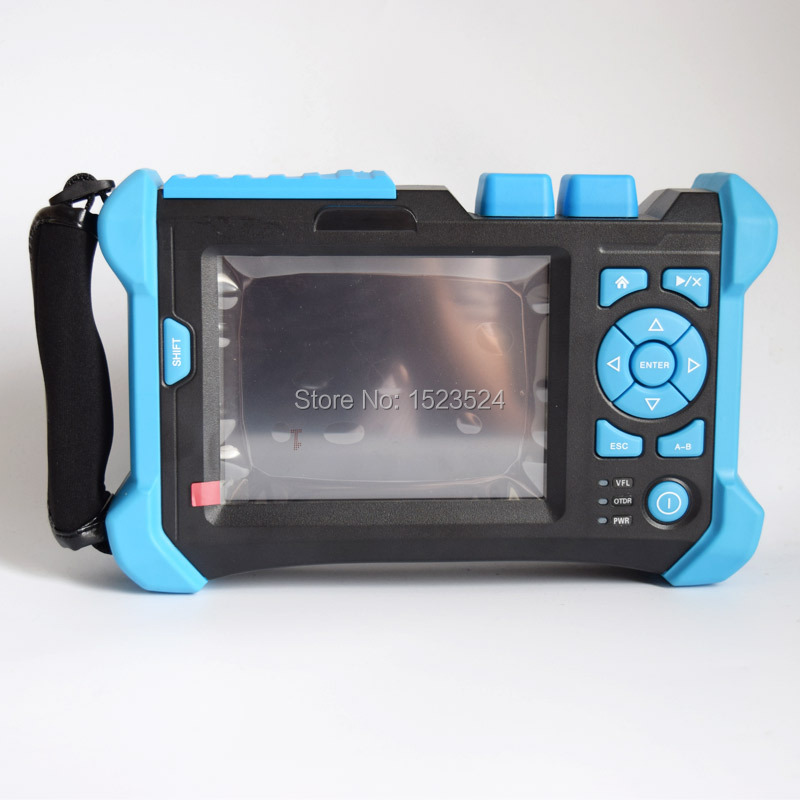 32/30/28dB SM 1310/1550/1625nm PON OTDR Optical Time Domain Reflectometer Fiber Optic PON OTDR with Touch Screen