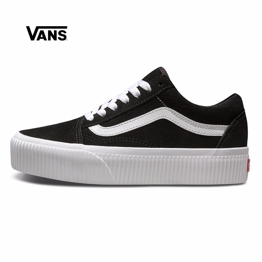 vans old skool womens black