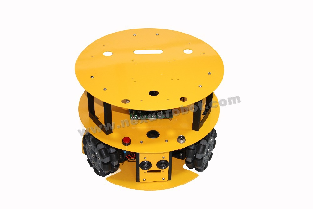 3WD 100 mm Omni Wheel Mobile arduino komplet robotov 10013