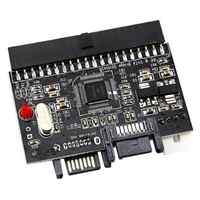 2 in 1 SATA a IDE Adattatore IDE a SATA Convertitore 40 pin Hard Disk Supporto Driver per ATA 133 100 HDD CD DVD Adattatore
