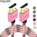 VOXLINK HDMI v1.4 Кабель 1 м 2 м 3 м HDMI Между мужчинами 4 К X 2 К 3D позолоченный 1080 P Кабель-Адаптер Для ПК HDTV PS3 Кабель HDMI V1.4