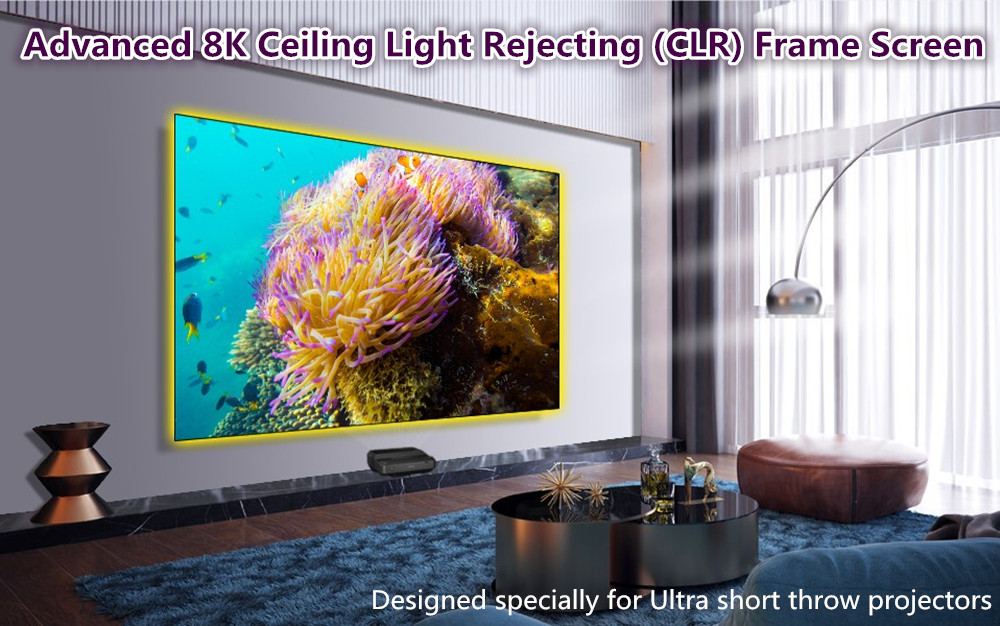 advanced 8k clr frame screen