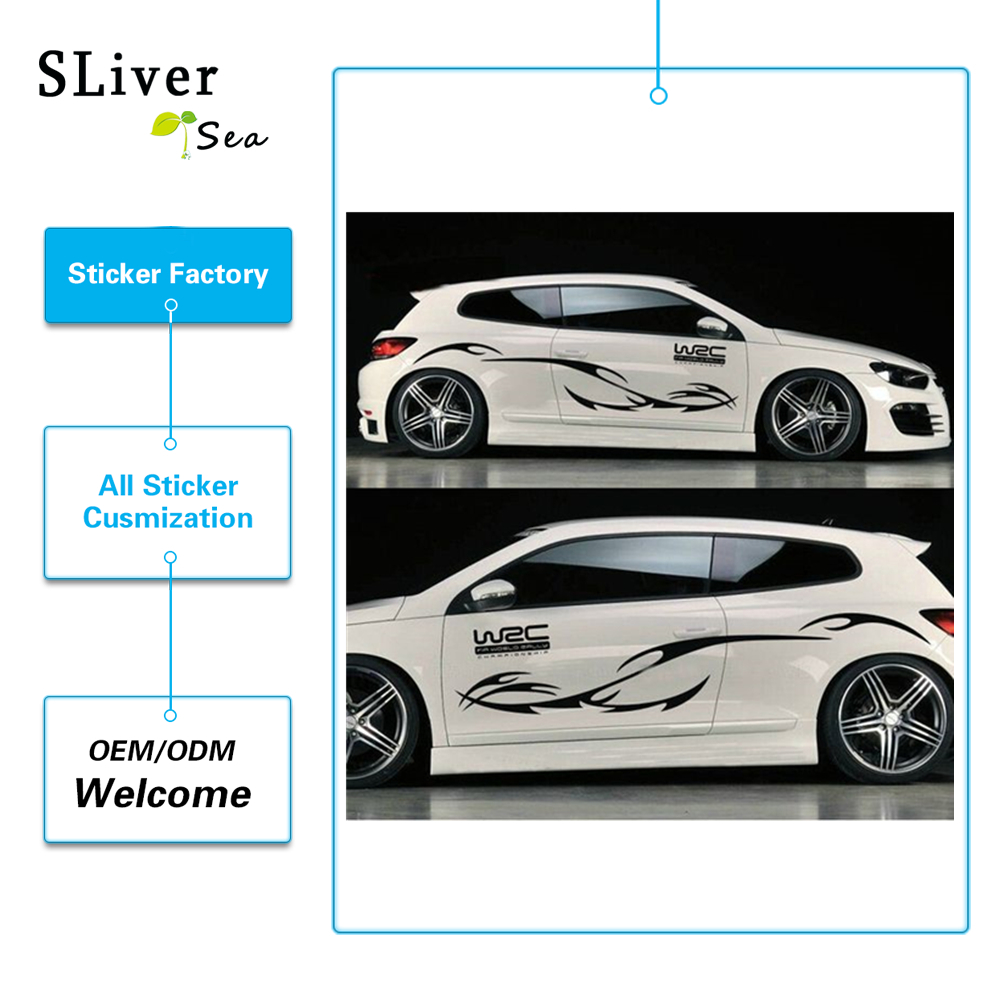 Car Sticker Body Design