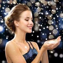 Copos de Nieve Romántica LLEVADA Impermeable al aire libre Proyector de Luz de Control Remoto Móvil de Navidad Decoración Jardín Luces Del Paisaje