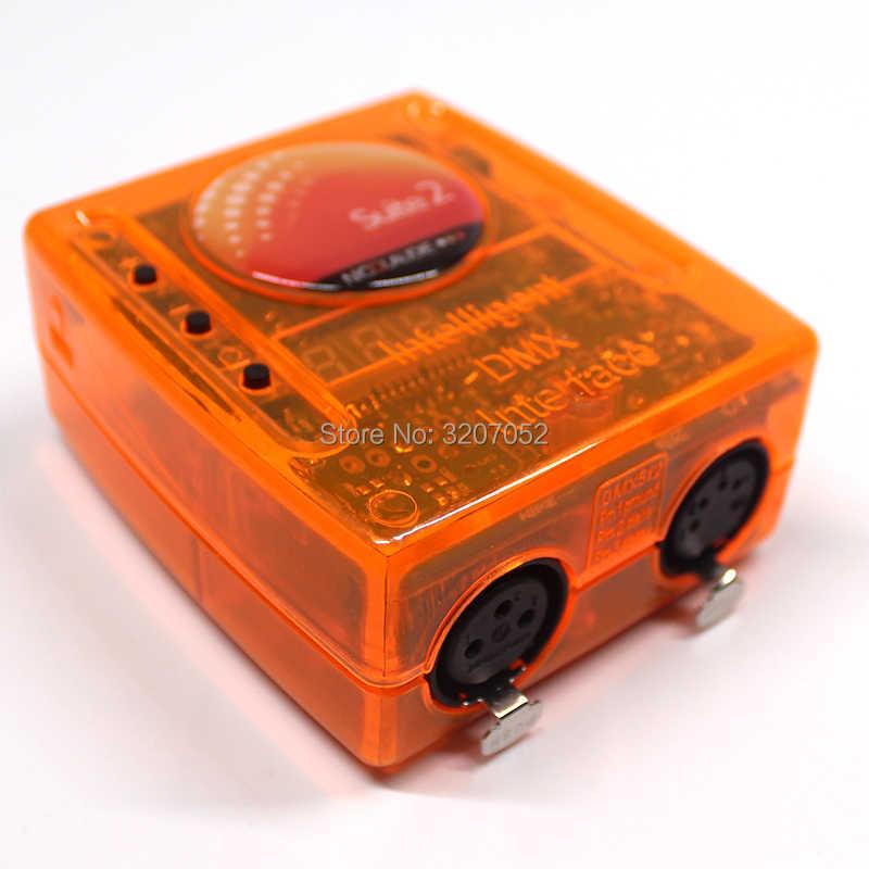 Профессиональный Сценический контроль программного обеспечения Sunlite Люкс 2 FC DMX-USD контроллер DMX хороший для DJ KTV вечерние светодиодный свет 1536 канал
