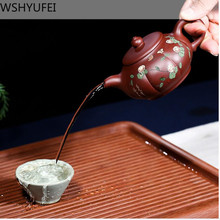 Zisha pot Yixing famous hand-made teapot 280ml water out of the smoothly home Kung Fu tea set WSHYUFEI