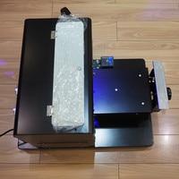 Чехол для телефона печатная машина A4 Универсальный плоской Панель принтер УФ облегчение DIY Металл Кристалл футболка кожа тиснения/тиснение
