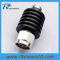 50ohm 10W N męski na żeński 1db  2db  3db. 5db  6db. 10db. 15db. 20db. 30db  40dB 3GHz tłumik koncentryczny RF w Złącza od Lampy i oświetlenie na