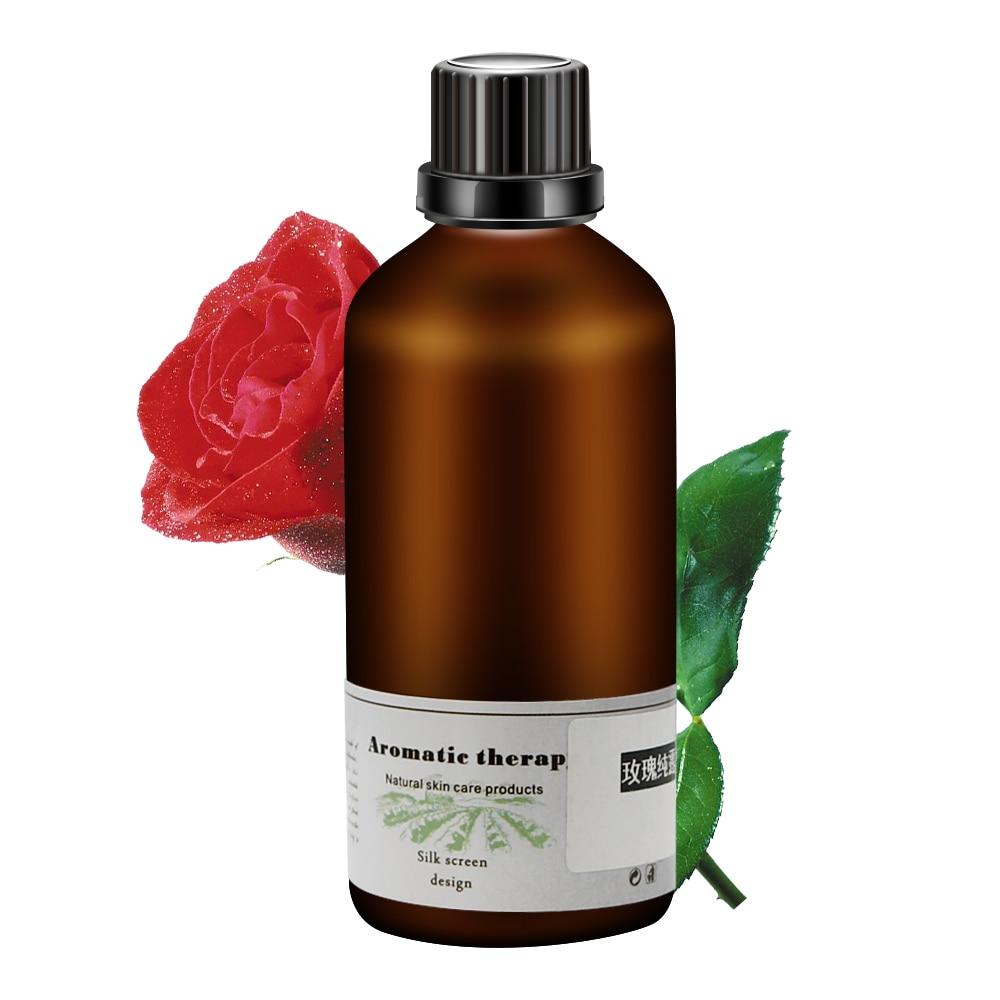 100ml Natural Rose Damask Hydrosol Brighten Whitening Moisturizing Hydrating Rose Water Essence Anti-Wrinkle Anti-Aging For Face