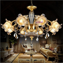 NEW Full copper European Tsinghua luxury, classical atmosphere living room lamp,American style restaurant lamp