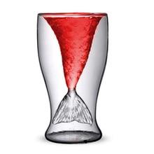 Mermaid Tail Glass