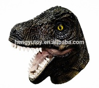 New Arrvial Christmas New Year Carnival Costume Accessory latex dinosaur Mask