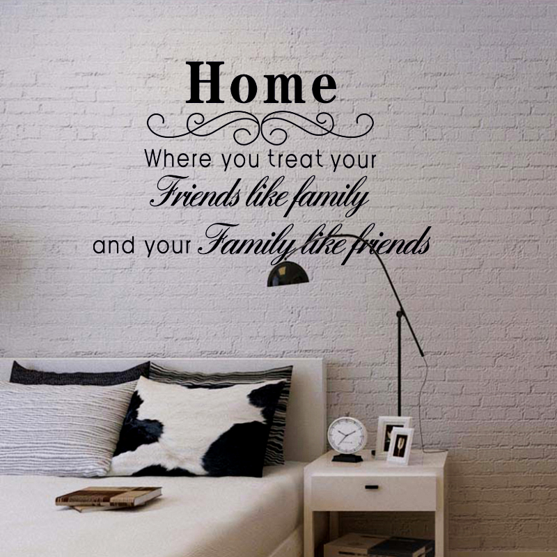 Glass Letters For Wall Romantic Poems In English Letters Wallsticker Sitting Room Tv