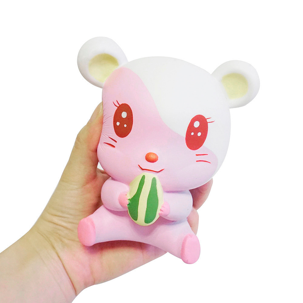 Stress Relief Toy Toys & Hobbies Relax Toys Skuishy Animales Fascinating Adorable Hamster Scented Slow Rising Collection Squeeze Stress Reliever Toy D301229 Spare No Cost At Any Cost