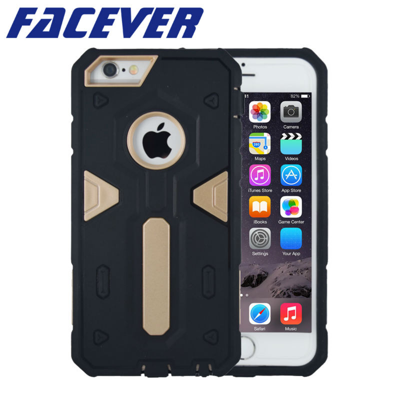 Luxury Shock Proof Case for Apple iPhone 6 Plus / 6S Plus 5.5 - Բջջային հեռախոսի պարագաներ և պահեստամասեր - Լուսանկար 1