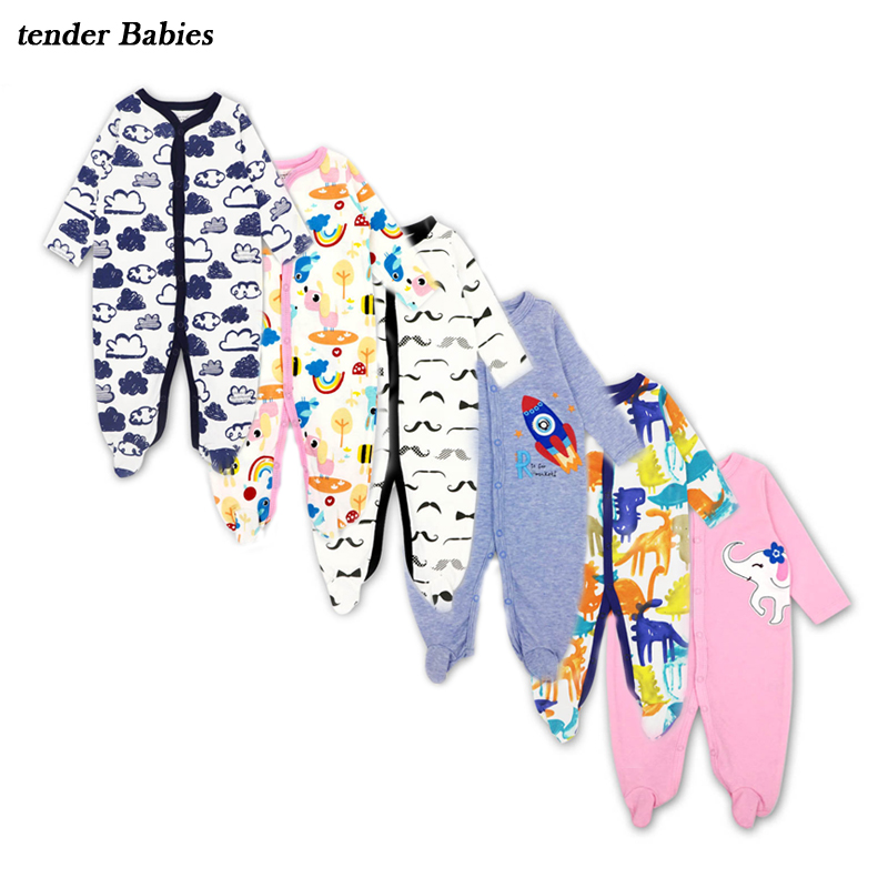 3Pcs Newborn Baby Girl Romper Winter Baby Boy Jumpsuit Clothes 100% Cotton Underwear Rompers Clothing Baby Rompers Warm Costume цена