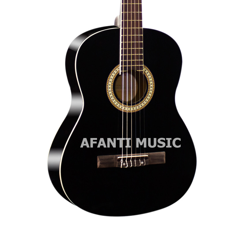 39 inch Black color Classical guitar of Afanti Music (ASG-113)39 inch Black color Classical guitar of Afanti Music (ASG-113)