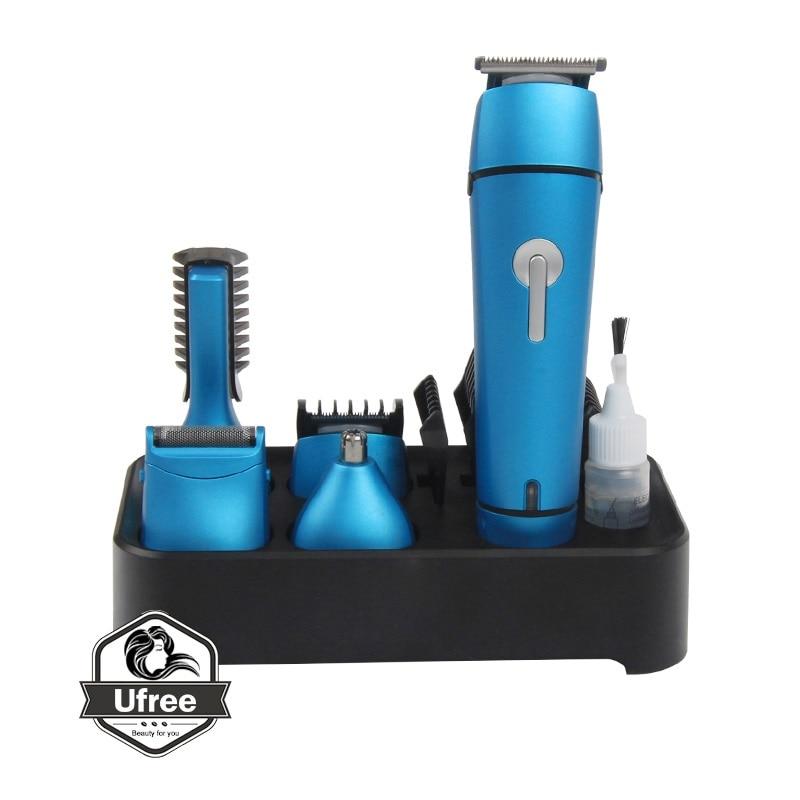 5 en 1 Rechargeable rasoir électrique nouveau Cutter électrique tondeuse à cheveux nez tondeuse à cheveux tondeuse multi-fonction rasoir barbier - 6