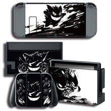 Vinyl Cover Decal Skin Sticker for ghosts skins Stickers for Nintendo Switch NS Console + Controller + Stand Holder Protective F