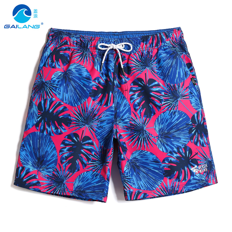Summer Men's bathing suit sexy swimming trunks quick dry surfing camouflage printed   board     shorts   joggers swimwear mesh