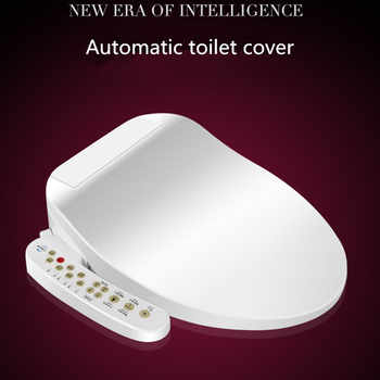 Smart Heated Toilet Seat Instant Hot WC Sitz Intelligent Automatic Toilet Lid Cover Electric Bidet Cover No Water Tank AC220V - DISCOUNT ITEM  10% OFF All Category
