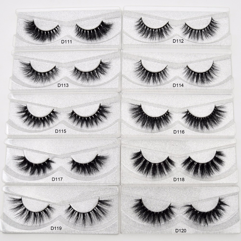Image 3 - Free DHL 50 pairs Visofree Eyelashes 3D Mink Lashes Handmade Mink Dramatic Lashes 48styles cruelty free reusable lashes wholsale-in False Eyelashes from Beauty & Health