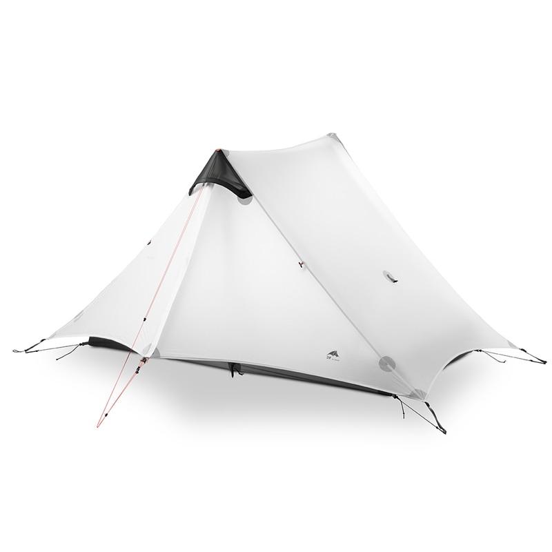3F UL GEAR LanShan 2 personnes tente de Camping ultra-léger 3 saisons tente équipement de Camp en plein air 2018 nouveau noir/rouge/blanc/jaune