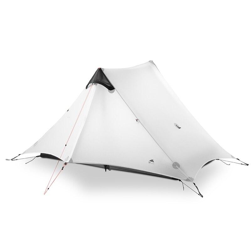 3F UL GEAR LanShan 2 Persona Tenda Da Campeggio Ultralight 3/4 Stagione Tenda Esterna Equipaggiamento da Campo 2019 nuovo nero/rosso /bianco/giallo - 2