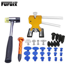 PDR Tools  Paintless Dent Removal dent removal paintless dent puller auto repair tool pdr glue tabs  hail repair tools triclicks car body panel t bar paintless hail repair pdr dent lifter removal tool 5 tabs suckers tool kit hand puller pdr tools