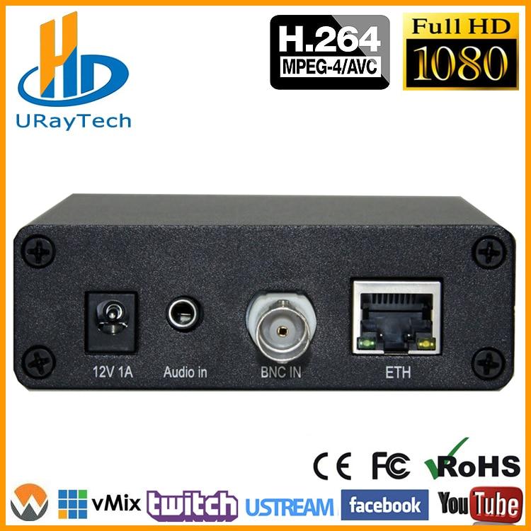 MPEG4 H.SD アナログビデオオーディオエンコーダ CVBS AV Rca IP RTMP エンコーダ IPTV エンコーダと H264 ストリーミング HLS ONVIF HTTP RTSP  グループ上の 家電製品 からの ラジオ & TV 放送機器 の中 1