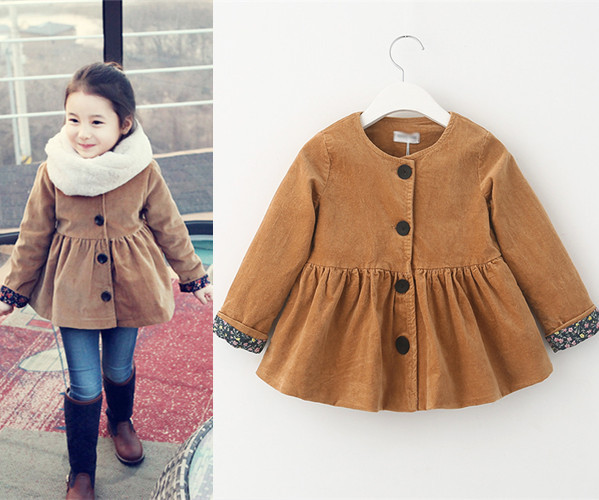 Aliexpress.com : Buy Baby girl coat jacket outerwear warm coat ...