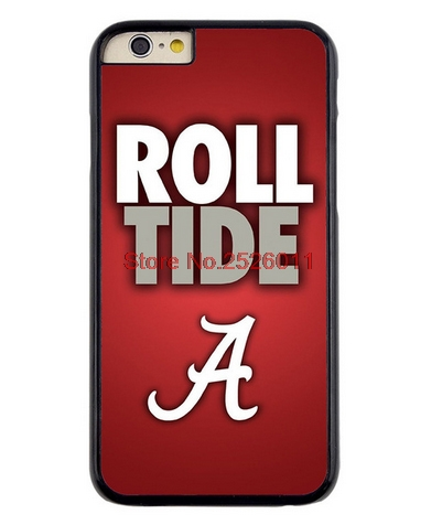 CAA Alabama Crimson Tide Roll Tide Amazing Logo Cell phone Case cover for Apple iphone 4s 5 5s 5c 6 plus Samsung Galaxy S3/4/5/6
