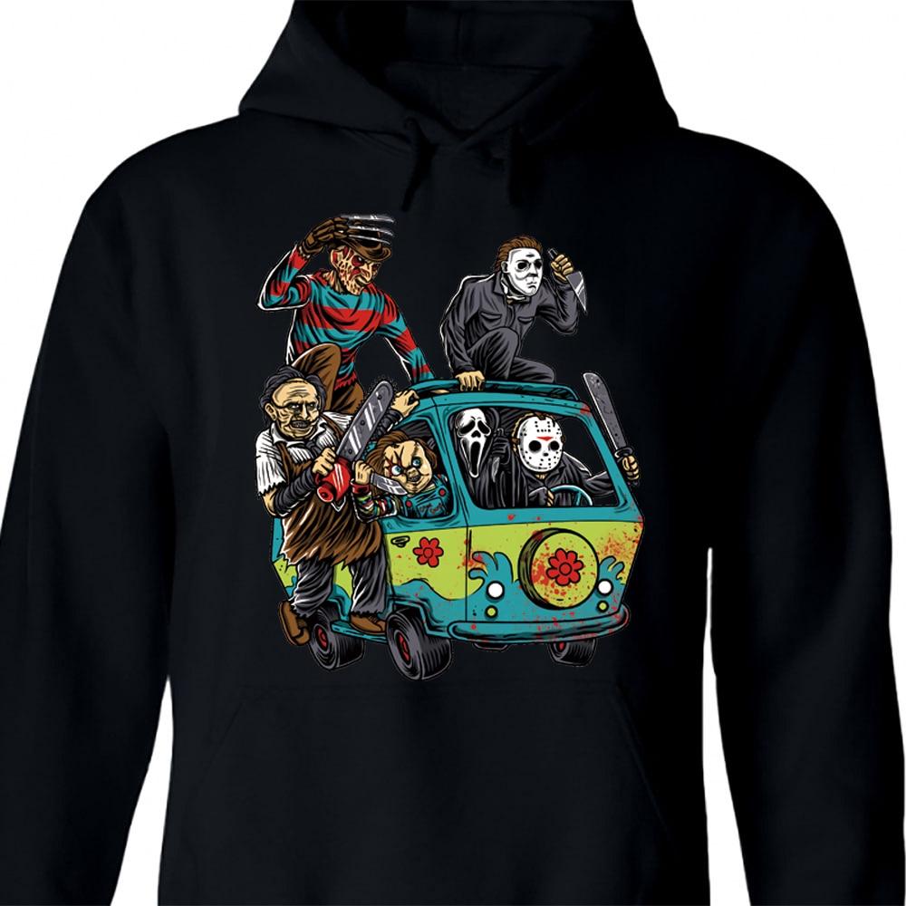 The Massacre Machine Horror Hoodie For Men Hip Hop Hoodie Sweatershirt Halloween Custom Hoodie