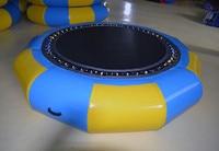 Chinese fabriek directe verkoop kinderspeelgoed volwassen speelgoed springen bed speelgoed gebruikt op land opblaasbare trampoline